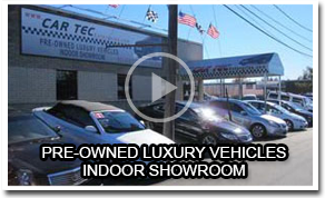Pre-Owned Luxury Vehicles Indoor Showroom